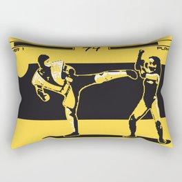 Fight game Rectangular Pillow