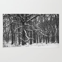Tree in the winter (RR 272) Rug