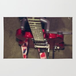 RED GUITAR Rug