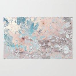 Pastel marble texture Rug