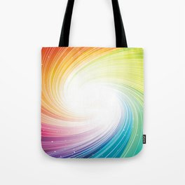 Rainbow background Tote Bag
