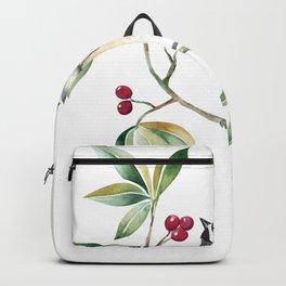 Chickadee on a tree! Backpack