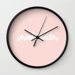 Serial Chiller Wall Clock