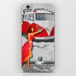 Street-Art in Digital-Art iPhone Skin