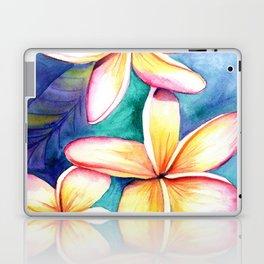 Blooming Plumeria 5 Laptop & iPad Skin