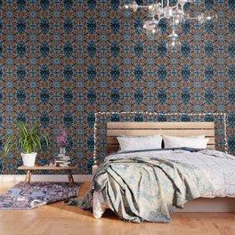 Shamanic Jungle Mandala Wallpaper