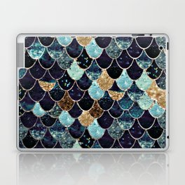 REALLY MERMAID - MYSTIC BLUE Laptop & iPad Skin