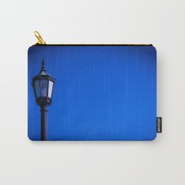 lamp over blue sky Carry-All Pouch