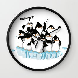 F**k humanity Wall Clock