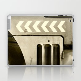 Road Roller Chevron 05 - Industrial Abstract Laptop & iPad Skin