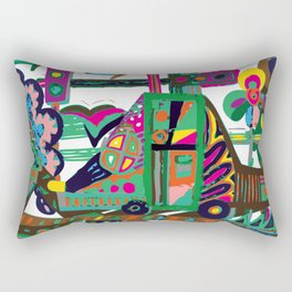 CAR-toon Rectangular Pillow