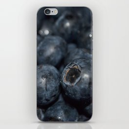 A very blue berry iPhone Skin