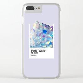 PANTONE SERIES – QUARTZ Clear iPhone Case