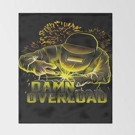 Welder Throw Blanket