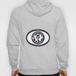 MI6 Oval Badge (Millitary Intelligence Section 6) Hoody