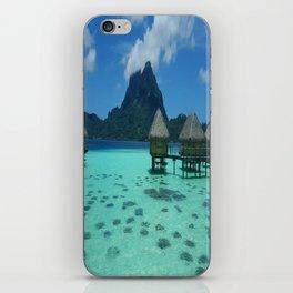 Bora Bora Bungalow iPhone Skin