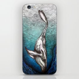 Into the Darkest Depths iPhone Skin