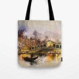 Venezia, Canal Grande Tote Bag