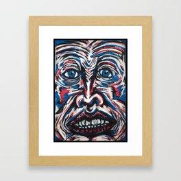 >> Visage_1  Framed Art Print