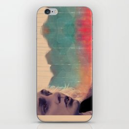 Blue sense8 iPhone Skin