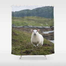 The prettiest sheep Shower Curtain