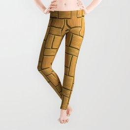 Mustard Blocks Leggings
