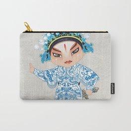 Beijing Opera Character ShiXu Carry-All Pouch