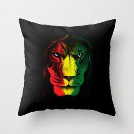The Wild Rasta Throw Pillow