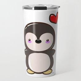 Penguin Kawaii Travel Mug