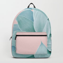 Blush Agave #4 #tropical #decor #art #society6 Backpack