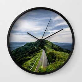road to heaven Wall Clock