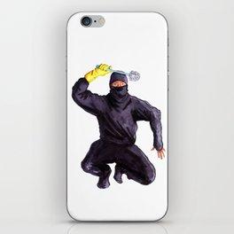 Bathroom Ninja iPhone Skin