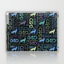 German Shepherd Dog - GSD Laptop & iPad Skin