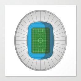 Football Stadium Canvas Print