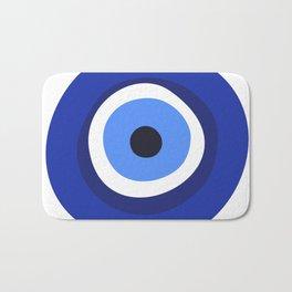 evil eye symbol Bath Mat