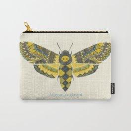 """""""Acherontia atropos"""" Moth Carry-All Pouch"""