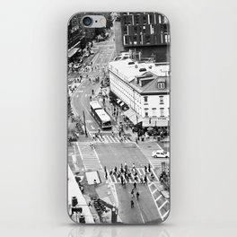 Street people in New York iPhone Skin