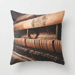 musical hammers Throw Pillow
