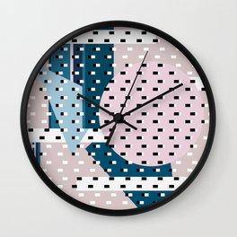 Hello City - Urban Hug Wall Clock