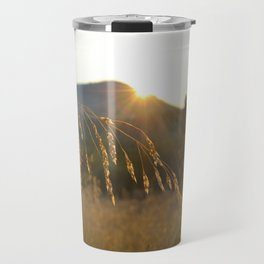 wheat grass  Travel Mug