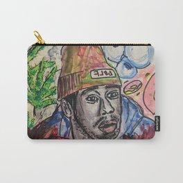 Tyler,The Creator,rapper,rap,music,fan art,wall art,artwork,colourful,weed,odd future,flower boy Carry-All Pouch