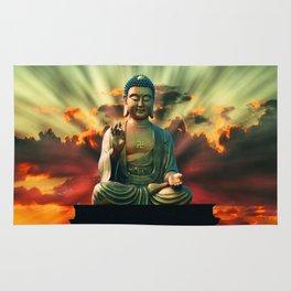Buddha Sunrise Rug