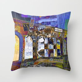 City Sound of Berlin Throw Pillow