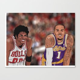 The Vet and The Rookie Canvas Print