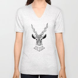 Le Blackbuck Unisex V-Neck