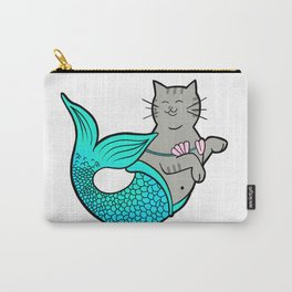 Mermaid Kitty Carry-All Pouch