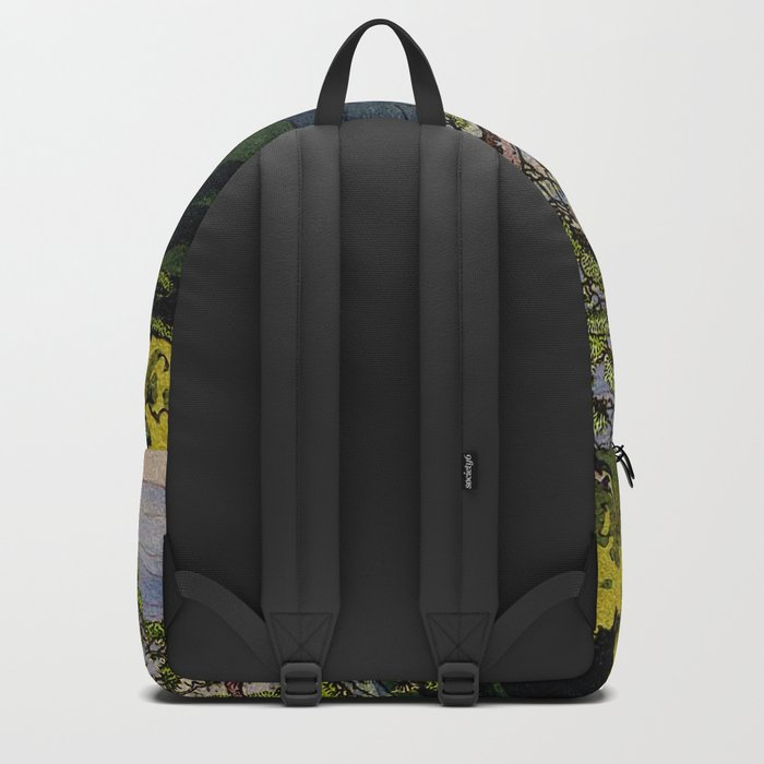 The Downwards Climbing Backpack