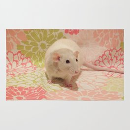 Pipes the rat Rug