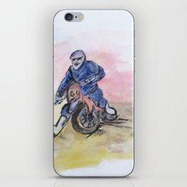 Dirt Bike Racer iPhone Skin