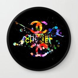 Fashion Blacky Black Wall Clock